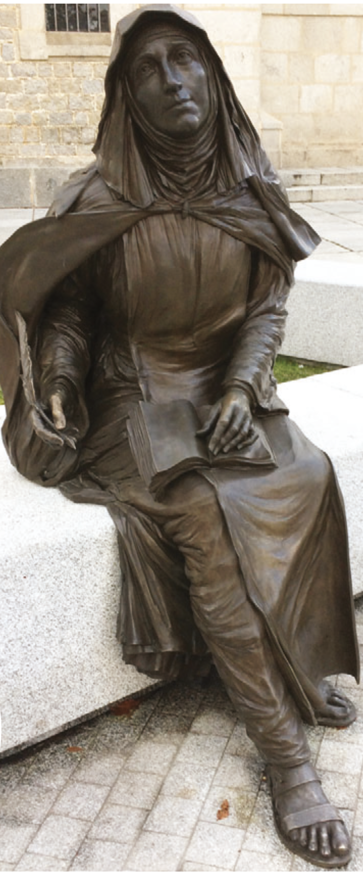 St Teresa of Ávila (Photo courtesy of The Tablet)