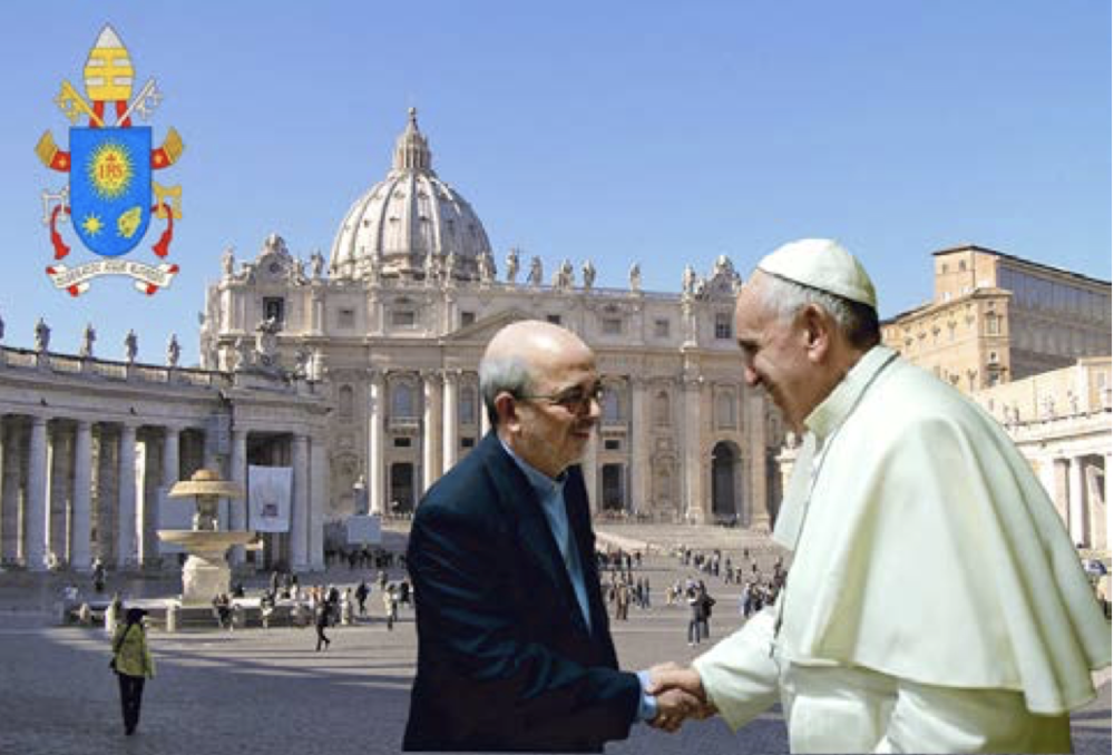 Pope Francis welcomes Br Emili  Turú to discuss our Marist Bicentenary