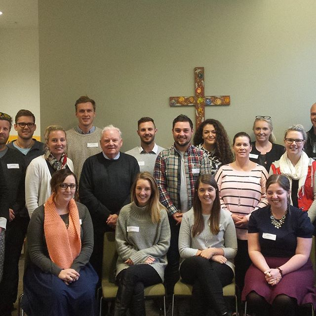 We are grateful to the eighteen Marist Leaders who came to our Marist Centre Melbourne from Perth, Adelaide, Melbourne and country Victoria to discuss what it means to be a Marist leader in schools today. #NG1M18 #MaristTertiary  #WeMarists