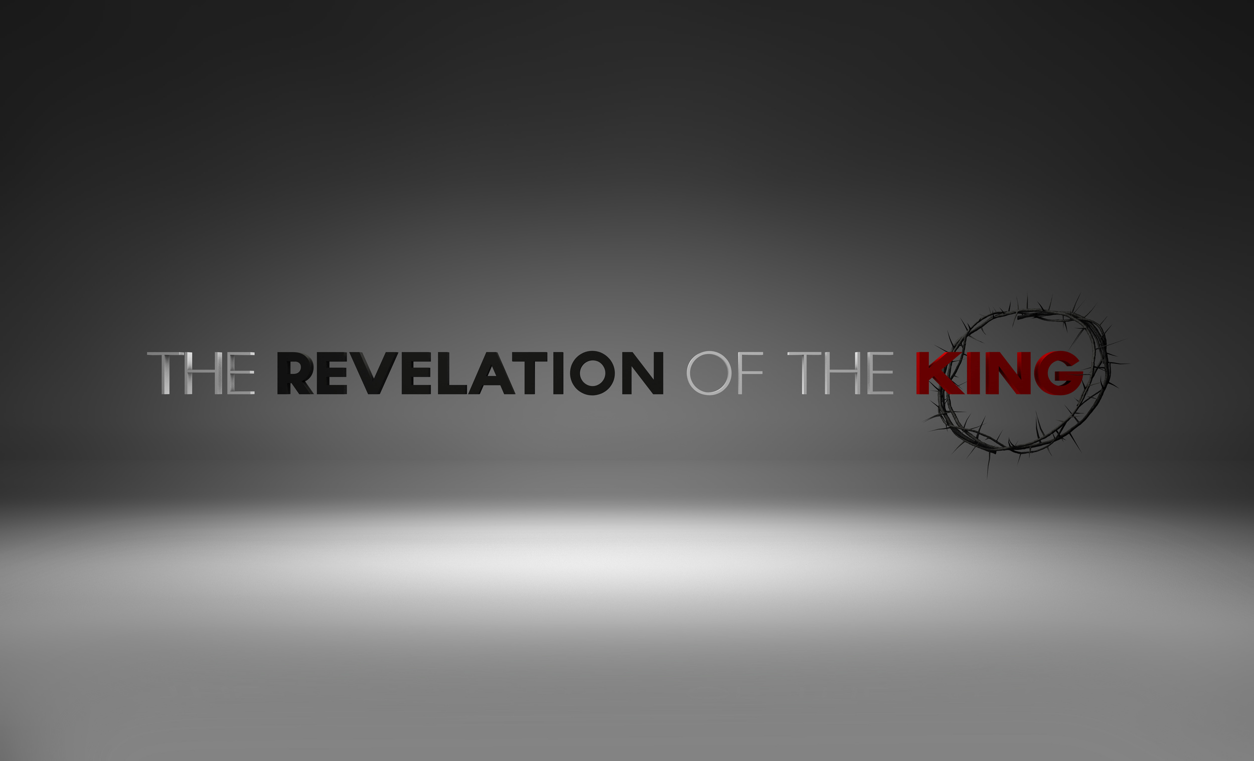 Revelation of the king print