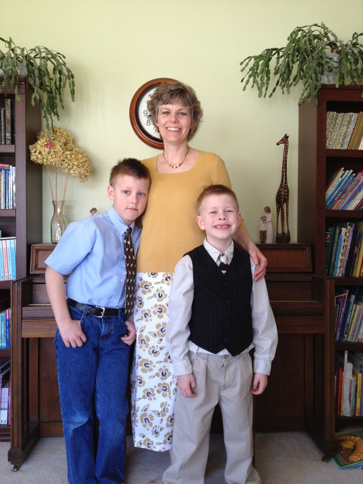 Susan and boys