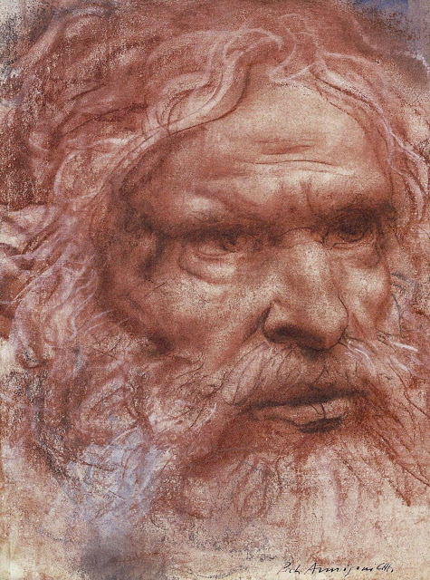 Pietro Annigoni 1910 - 1988,   Abramo / Abraham