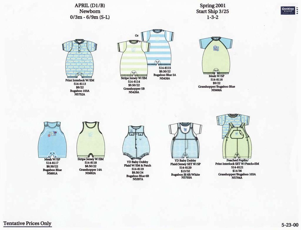 Oshkosh B'gosh   Boys Newborn Collection