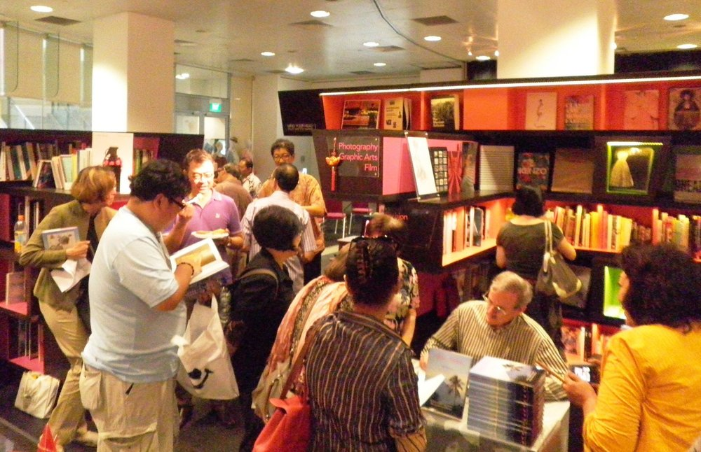 The  Spice Islands  book launch at Select Books, Singapore