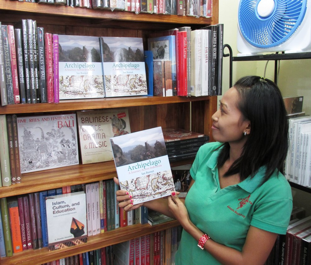 Archipelago  in the Ganesha Bookshop in Sanur, Bali