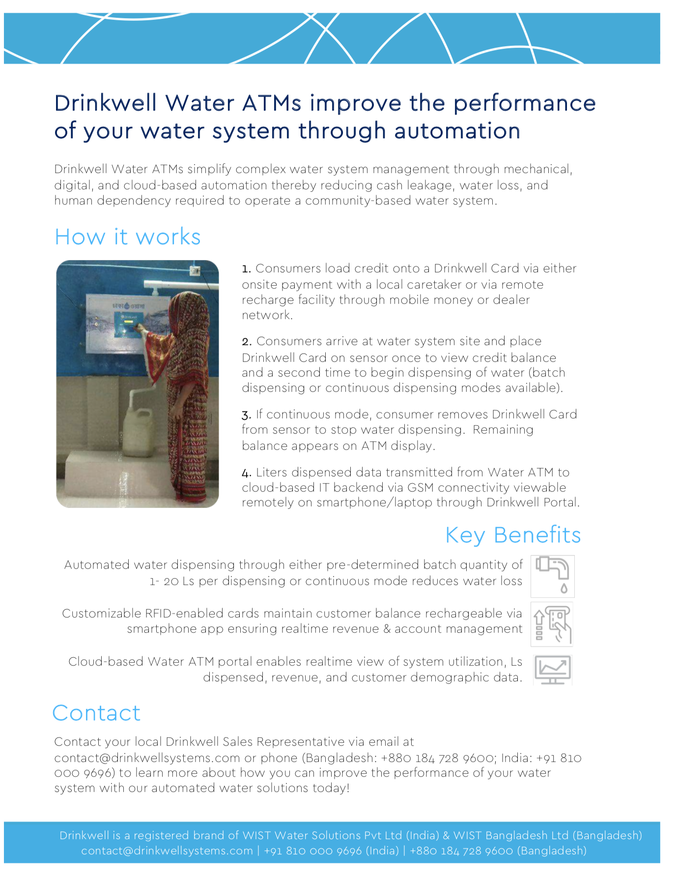 Drinkwell Water ATM 2-Pager — Drinkwell