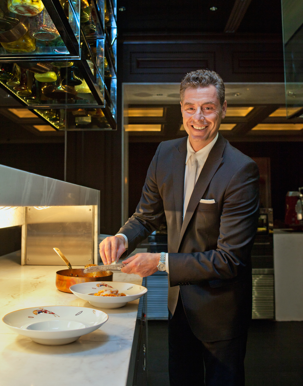 Mauro Maccioni, owner, Le Cirque   GQ India