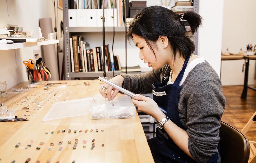 Kerrie Yeung, jewelry designer