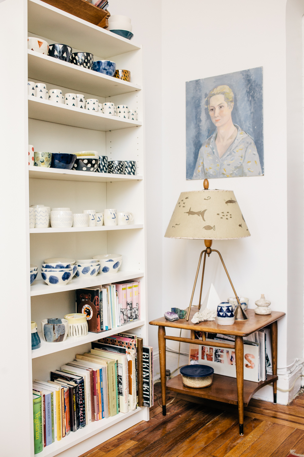 Ceramics artist and reiki healer Rachel Howe. Check out more images and the BK Styled profile here -  http://bit.ly/194oGPc    © Jocelyn Baun