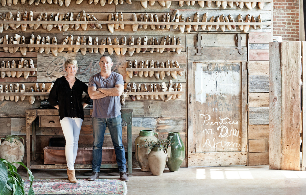 Dana and Phillip Nappi, owners, Peter Nappi. Peter Nappi creates hand-crafted, limited-run leather boots by artisans in Italy.