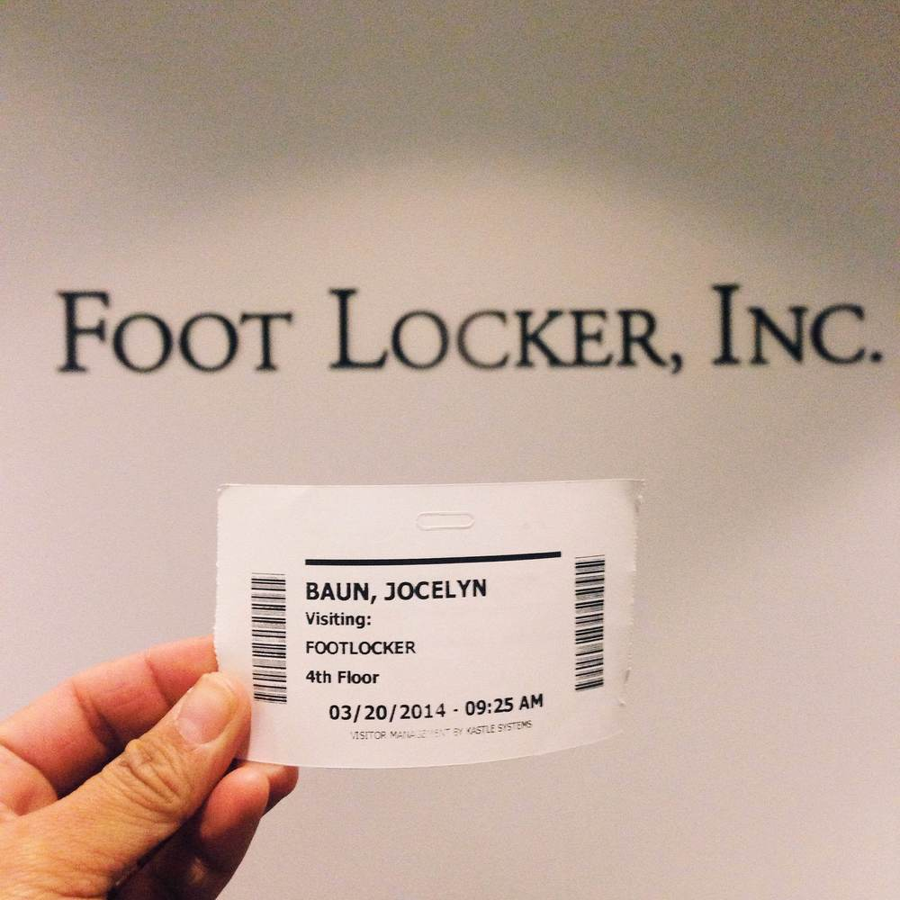Aw yeah! Shooting at Foot Locker HQ!