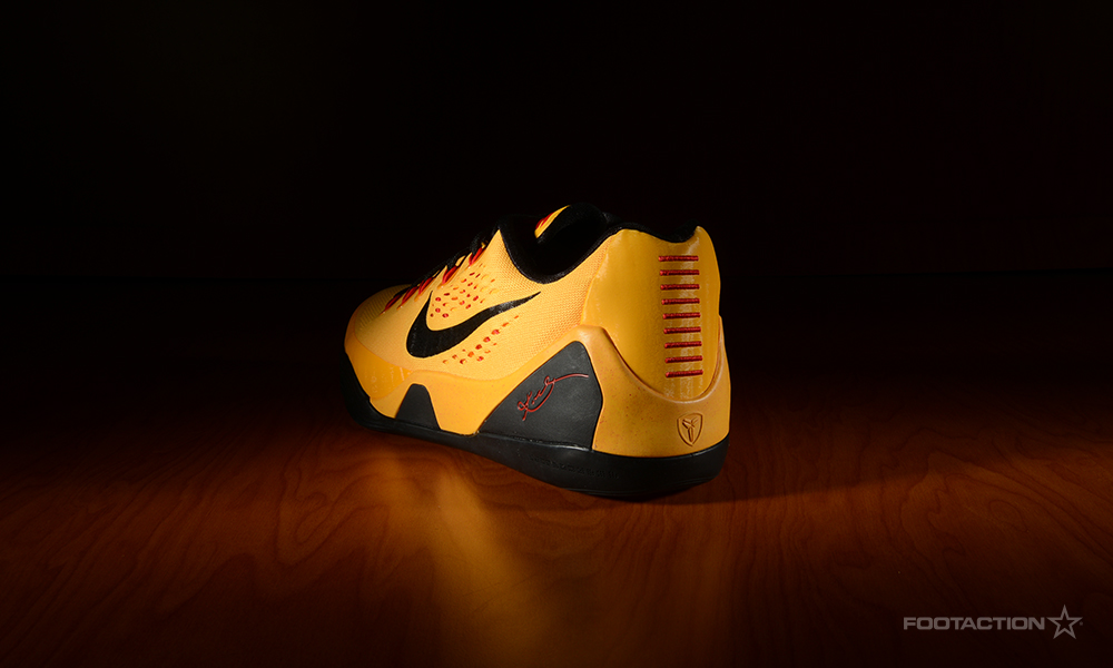 Nike Kobe 9 EM University Gold for Foot Action