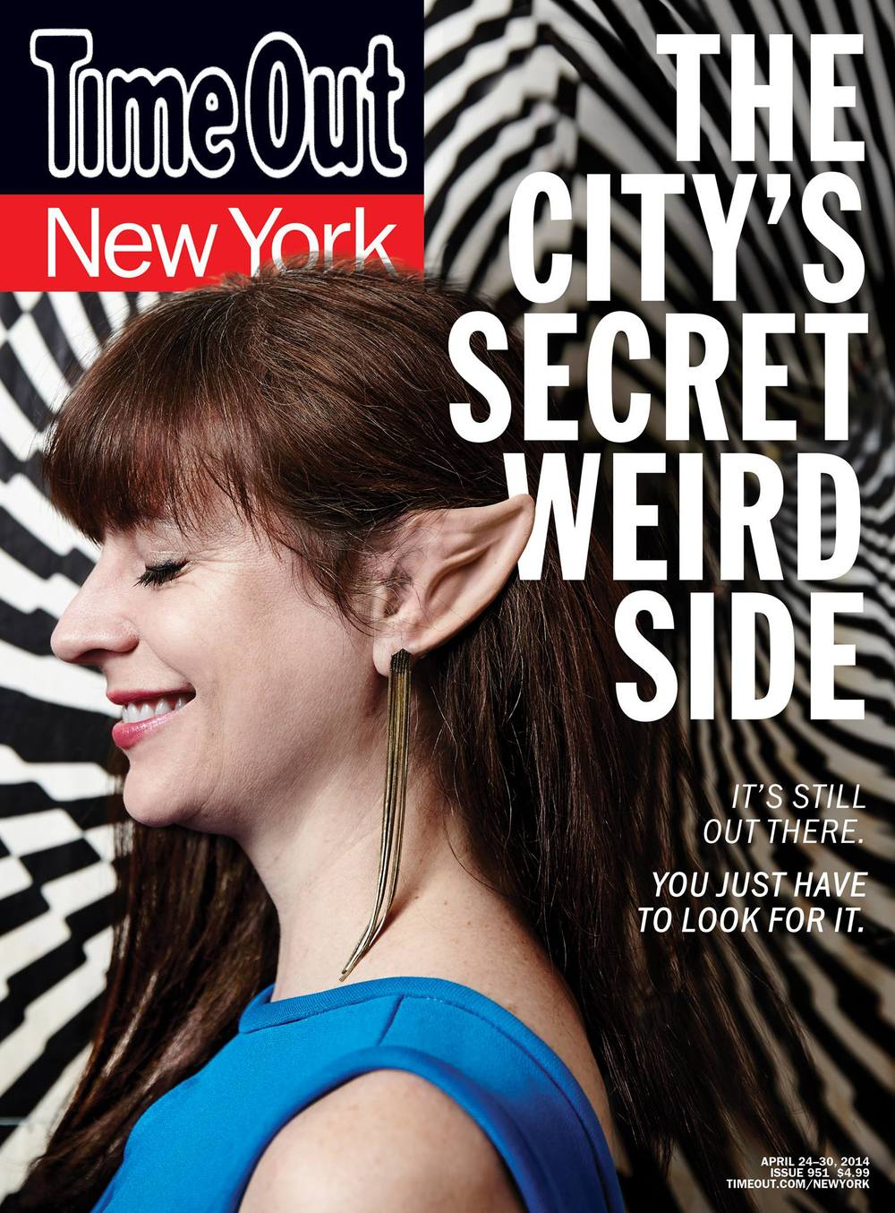 Reverend Jen on the cover of Time Out New York.