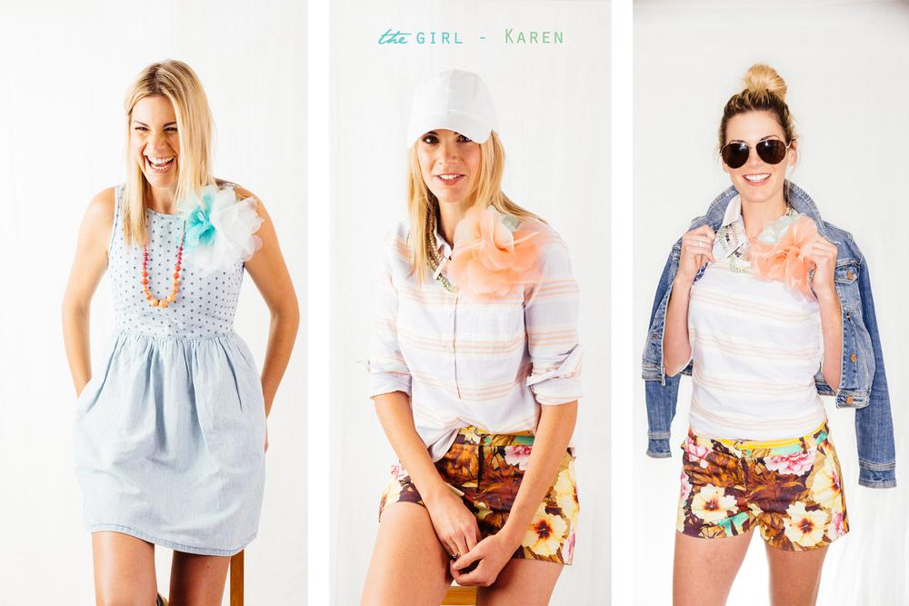 the girl - Karen
