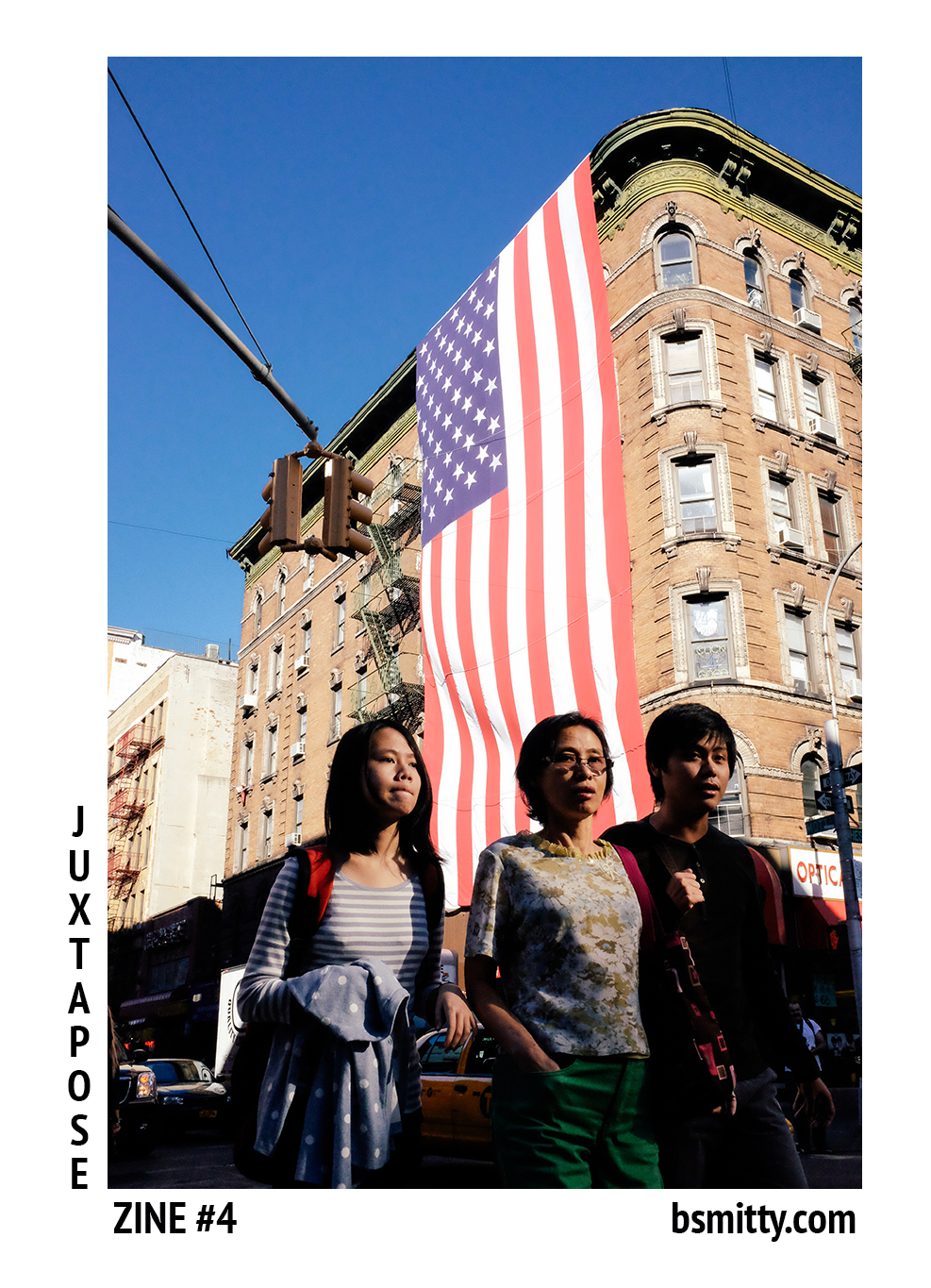 Here is the cover to my next zine 'Juxtapose'   All the photos shot with the fujifilm x100s  Keep checking back for more updates!