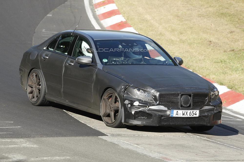 Sucessora Da Mercedes Benz C63 AMG é Flagrada Em Testes U2014 Motorgrid Brasil