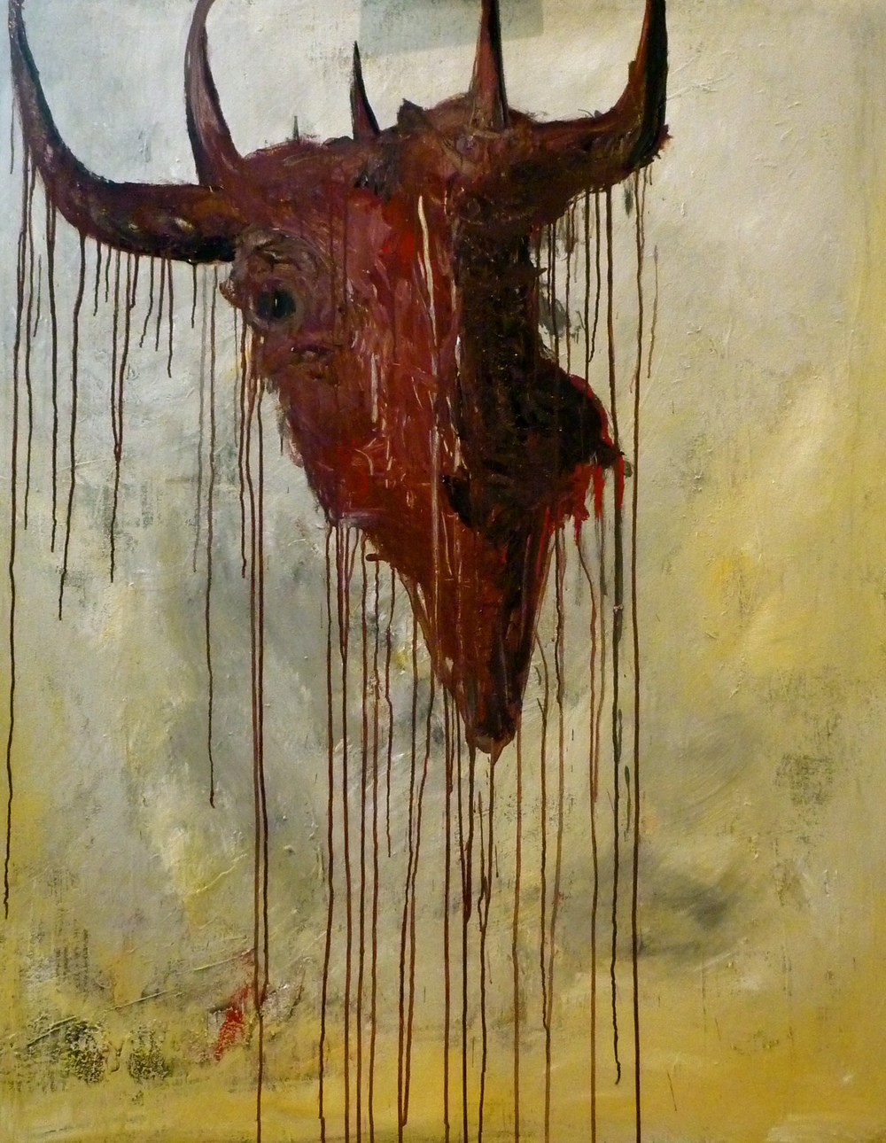 'Bull' 2010  Oil on canvas  122cm x 152cm