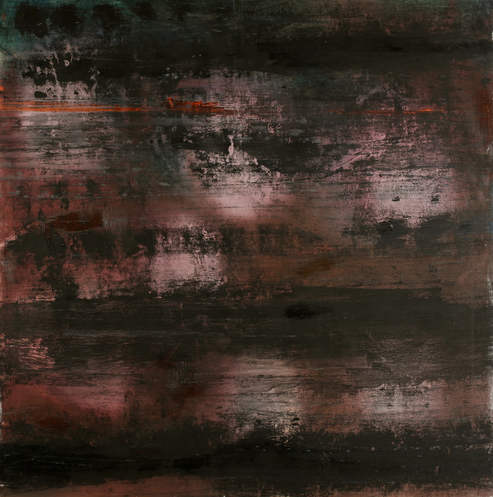 'Untitled' 2012 Oil on canvas  122cm x 122cm
