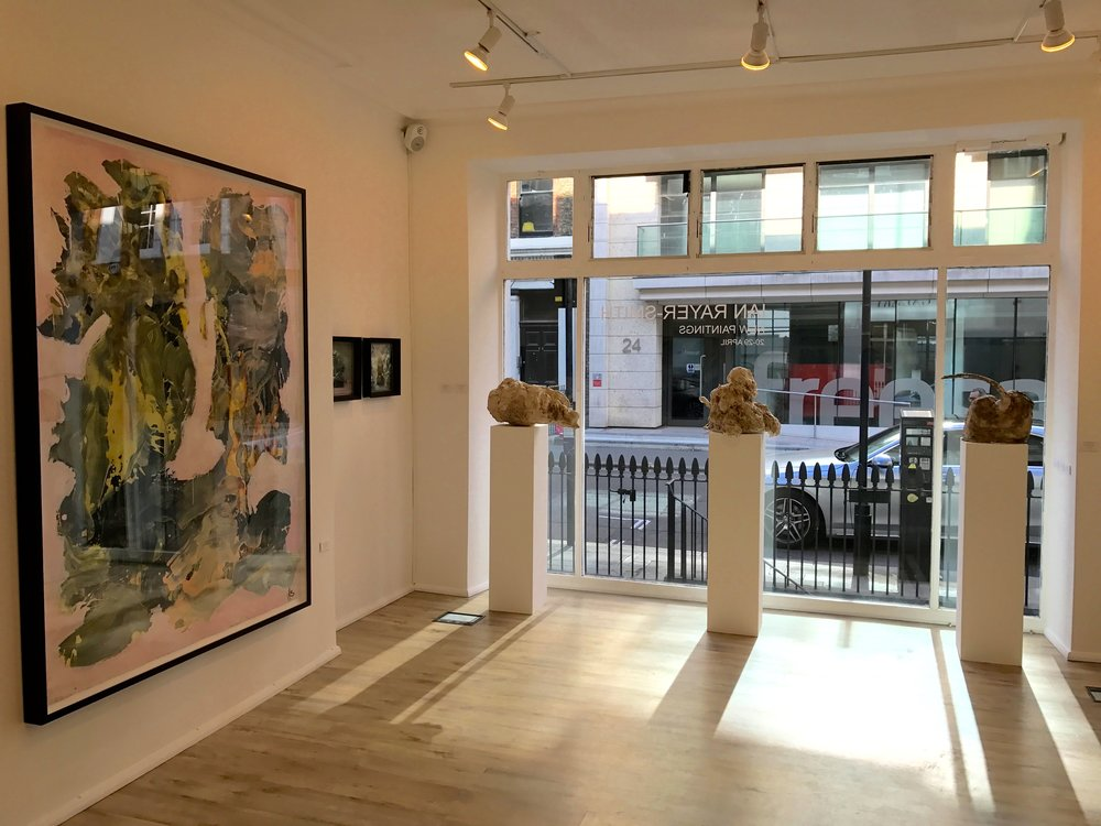 Zari Gallery, London. April 2017