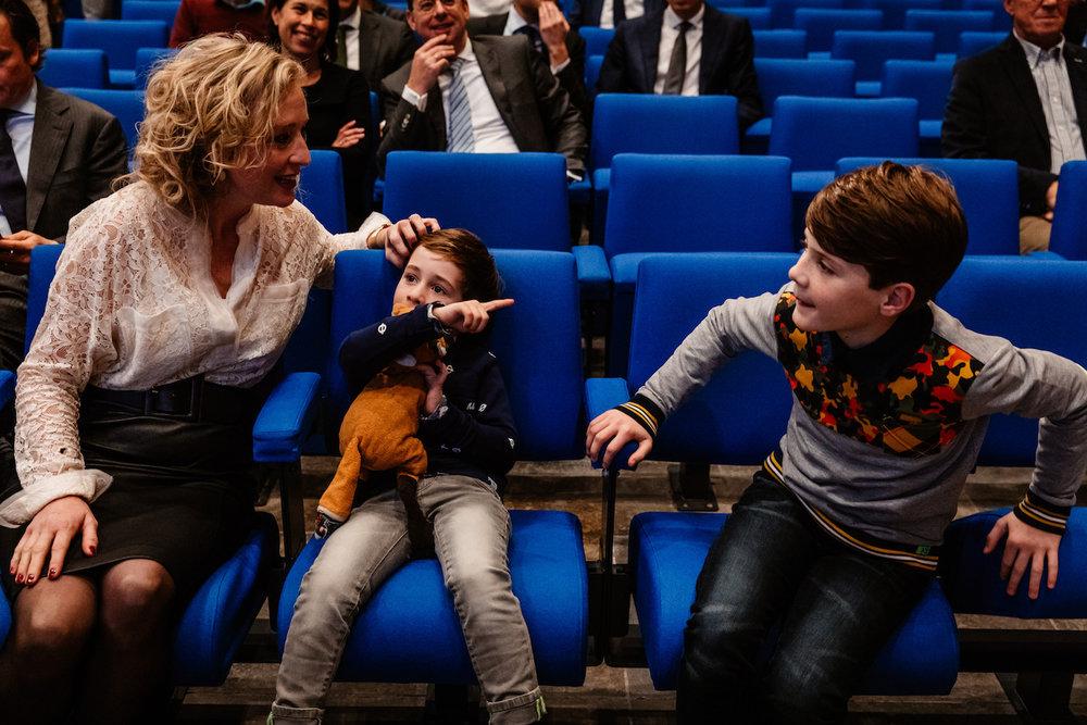 Promotie fotograaf Universiteit Tilburg