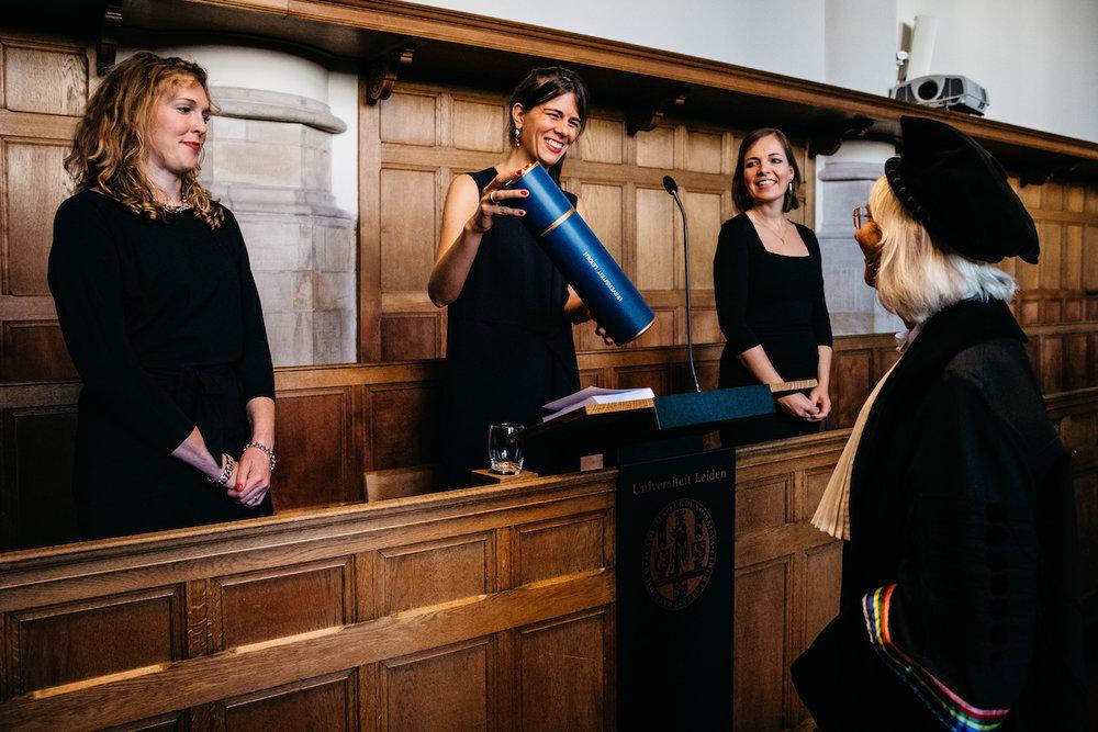 Promotie fotograaf Universiteit Leiden