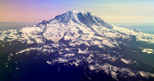 Mt Rainier - Flickr User  Frank Kovalchek