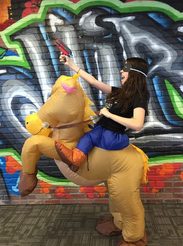 Bandit on a Horse
