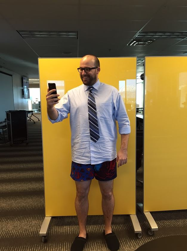 Taking a HireVue Interview - no pants required