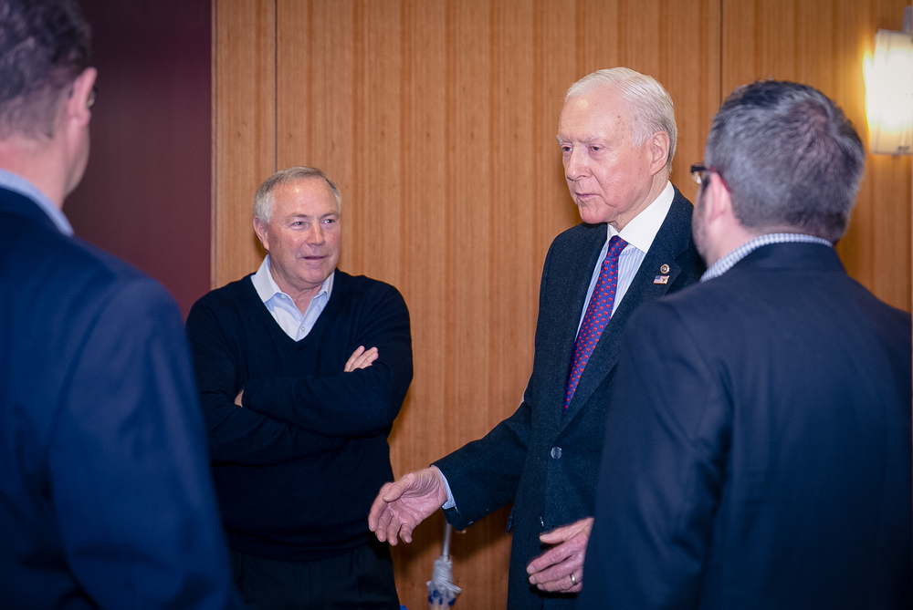 David Bradford, Senator Orrin Hatch, Mark Newman