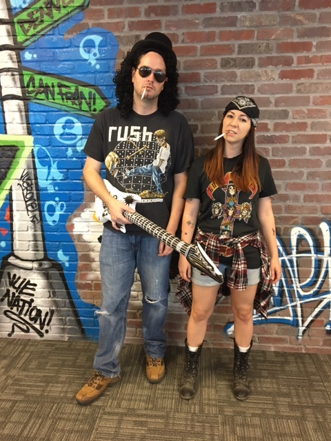 Axl & Slash - Winner Best Use of Props