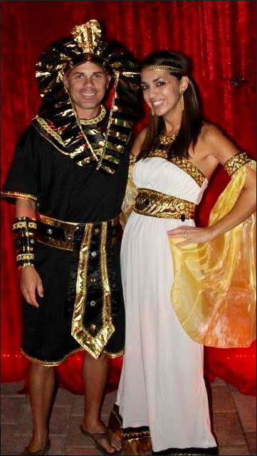 King Tut and Cleopatra