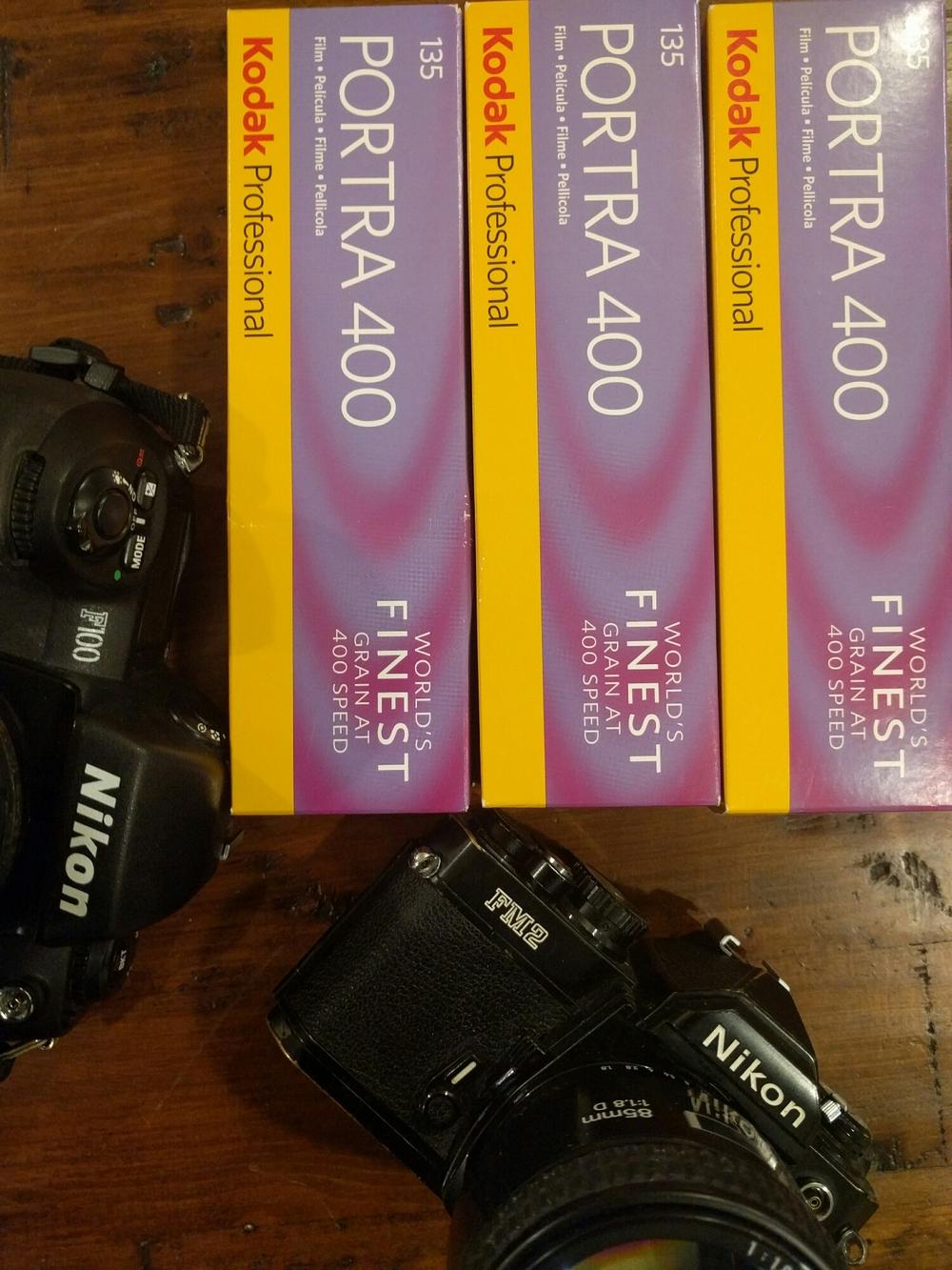 35mm Kodak Portra 400