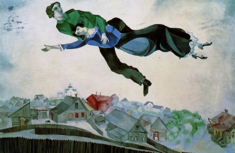 Marc Chagall, All over the town