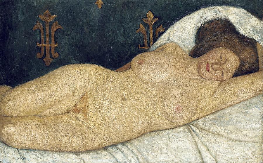 Paula Moderson Becker Reclining nude 1902