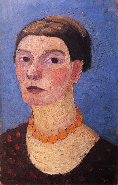 Paula Moderson Becker Self Portrait 1906