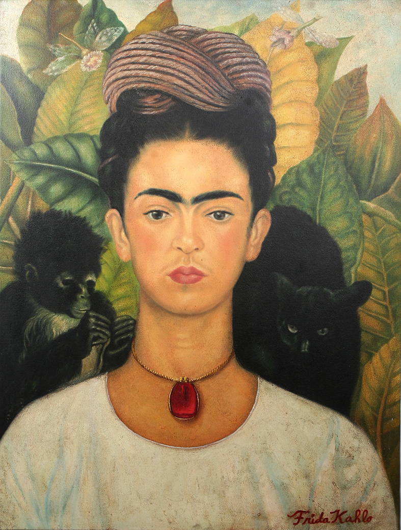 Frieda Kahlo Self Portrait 1940
