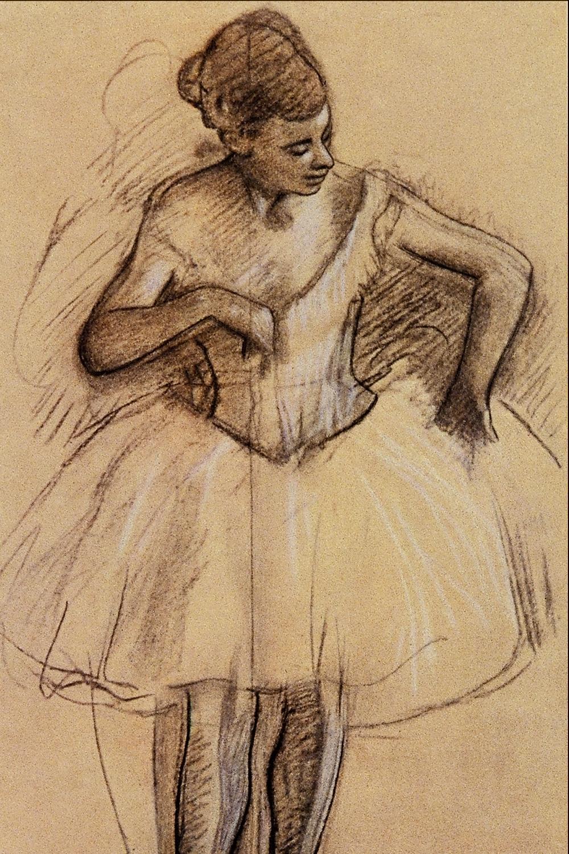 Degas Dancer 1880