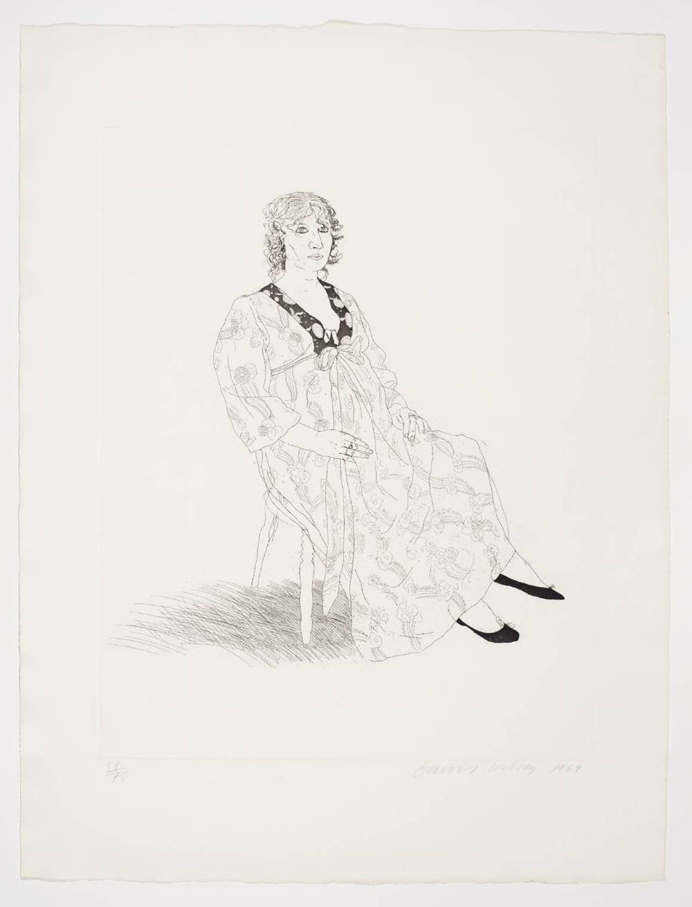 David Hockney 'Celia'