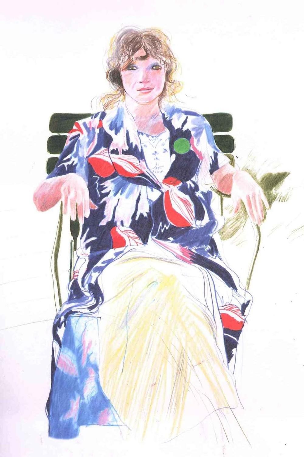 David Hockney Celia