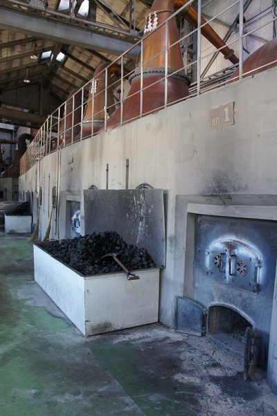 Distillation at Yoichi