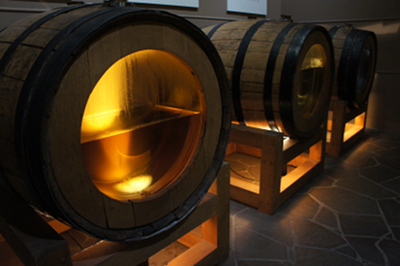 Whisky acquires its golden colour in the barrel. Initially, it is clear.