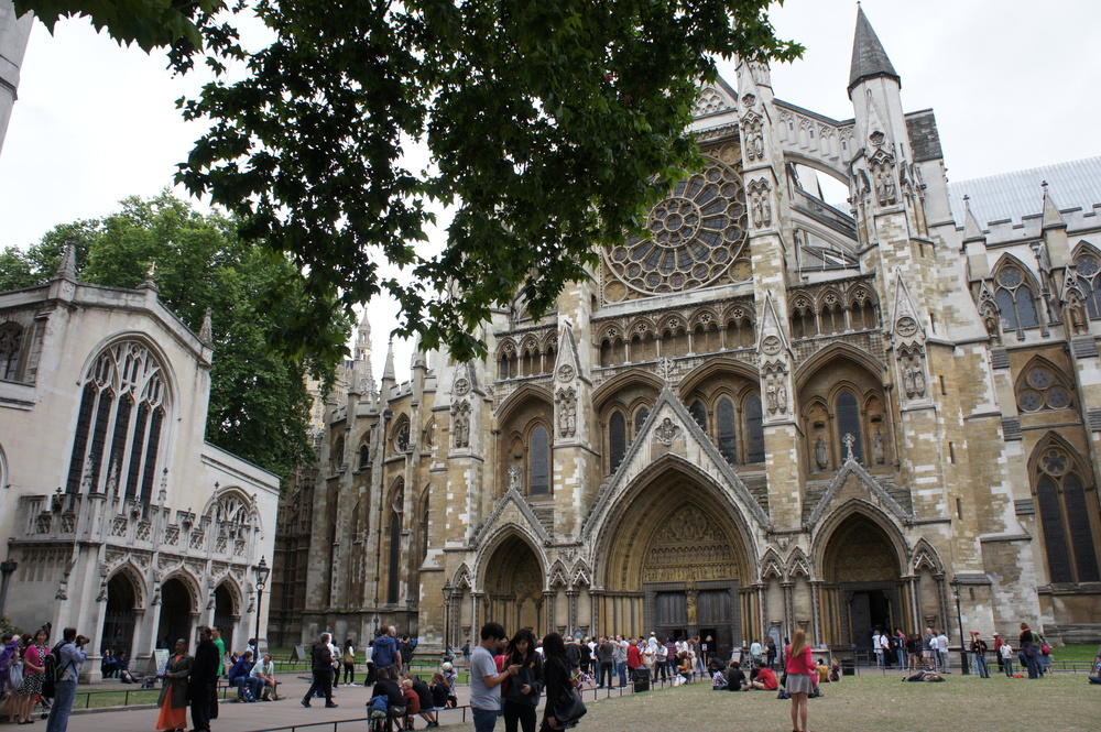 Because Westminster Abbey is in the heart of London, it's actually quite hard to get a good angle for a photo.