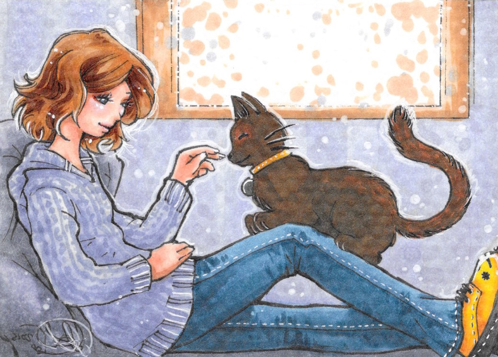 (Art by manga artist, Jamie Lynn Lano)