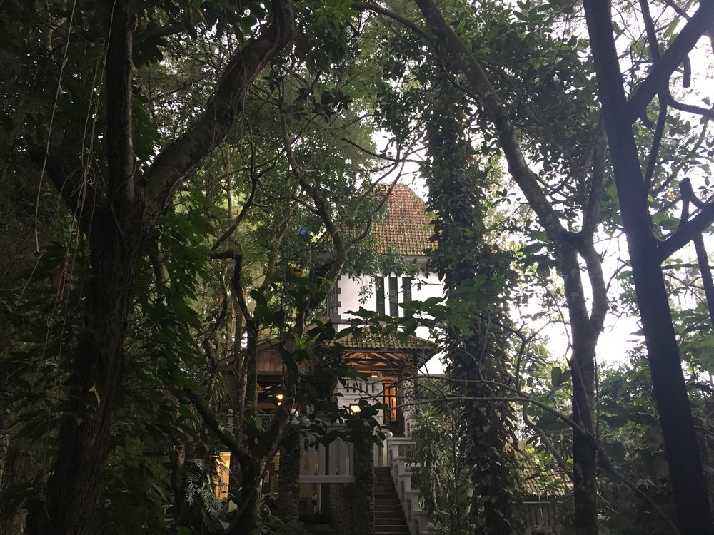 The outside of the Ullen Sentalu Museum