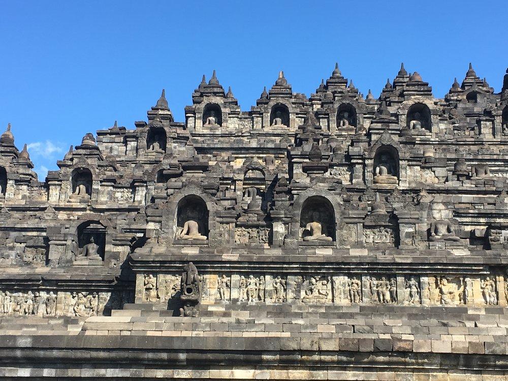 Borobudhur Temple.