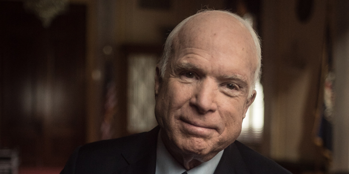 John McCain, For Whom The Bell Tolls Client: HBO Director: Peter Kunhardt