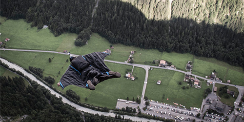 BASE Jumping Switzerland  Client: Push Process Pictures  Director: August Popkin