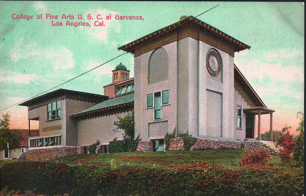 Judson Studios as the first USC School of Fine Art in 1911
