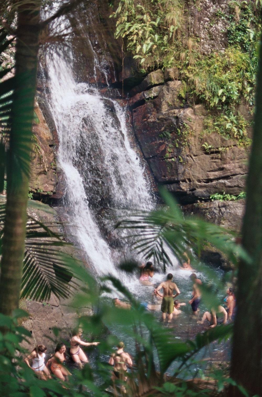 Hidden Waterfall Puerto Rico