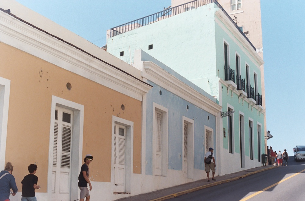 Colorful Streets Puerto Rico